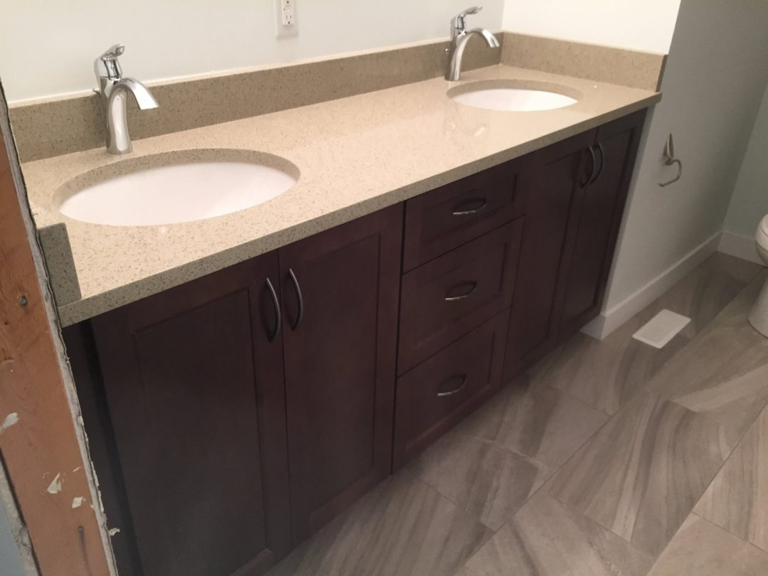 Bathroom – Maple – MT Fuji Stain