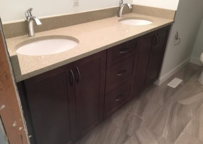 Bathroom – Maple – MT Fuji Stain