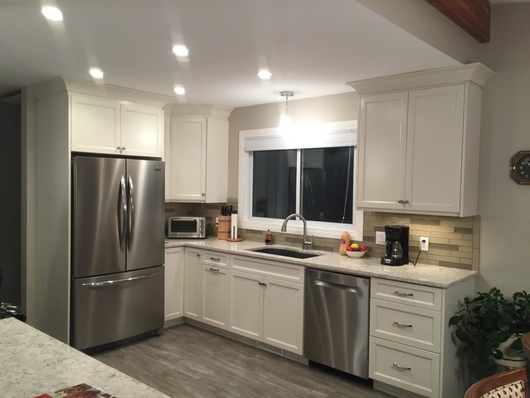 cloud white kitchen cabinets