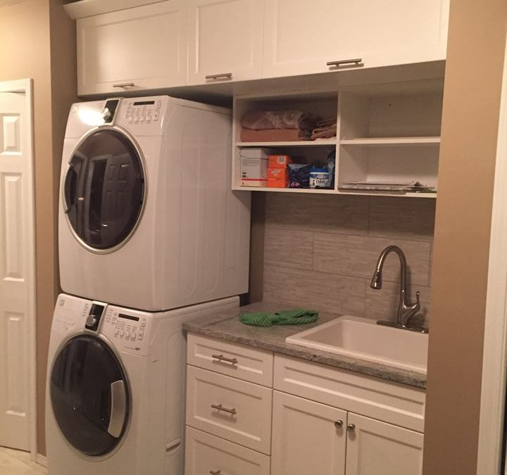 Laundry Room- Thermofoil White