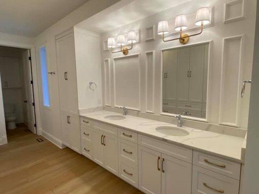 Painted MDF Doors (Bathrooms)